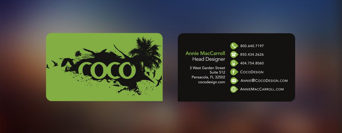 Business Card Samples \u2013 Annie MacCarroll Design