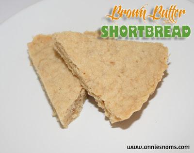 Brown Butter Shortbread
