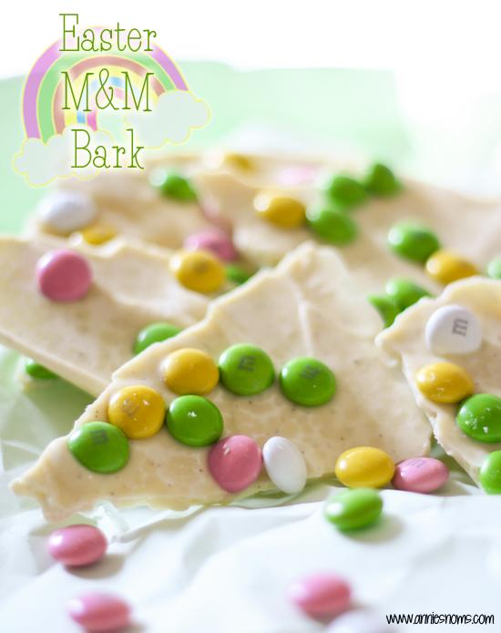 Easter M&M Bark