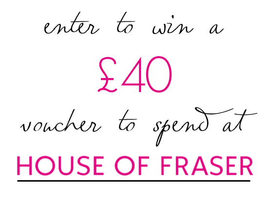 House of Fraser Giveaway | Annie's Noms