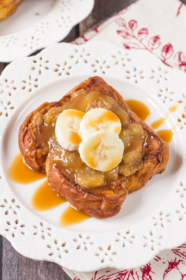 My Banana Caramel French Toast is super easy to make as it uses store ...