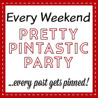 The Pretty Pintastic Party Button