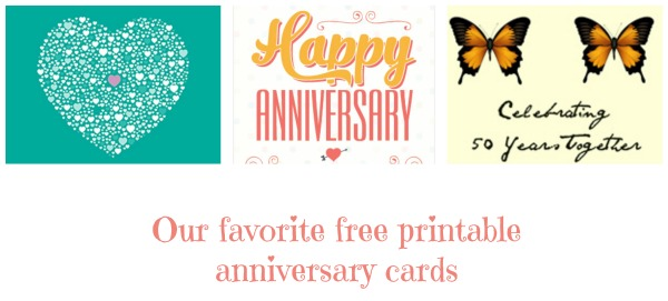 Anniversary Cards To Print  Post On Facebook