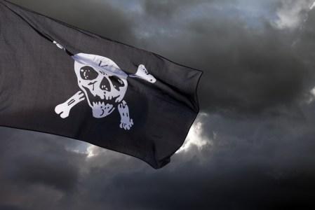 Jolly Roger melawan awan