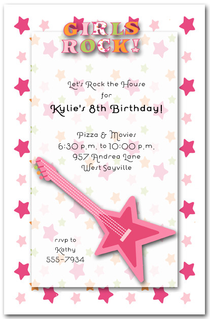 birthday invitations for girl - Intoanysearch - girl birthday party invitations
