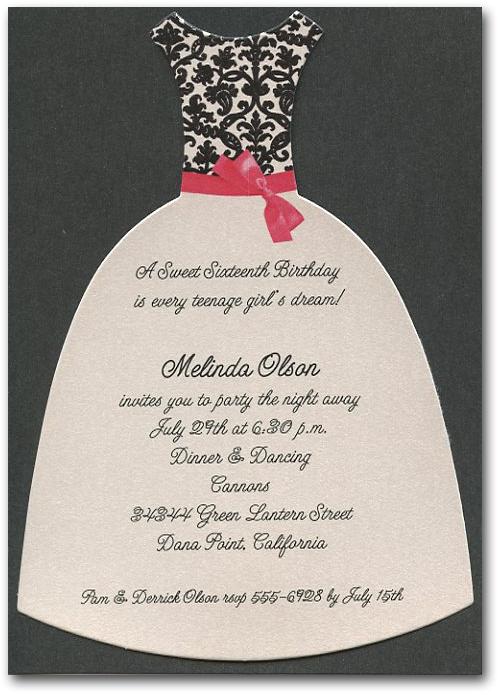 white party invitation wording