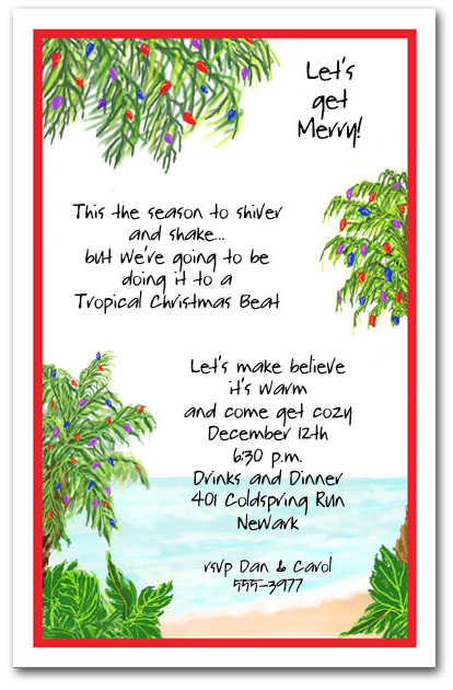 office holiday party wording