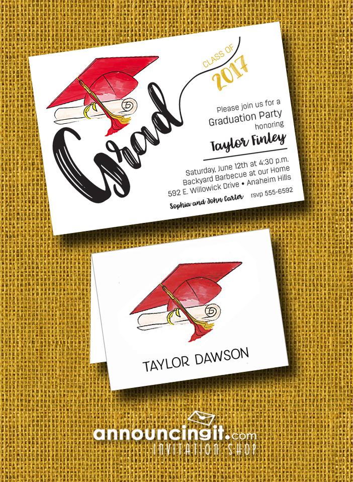Graduation Party Invitations and Announcements Announcingit