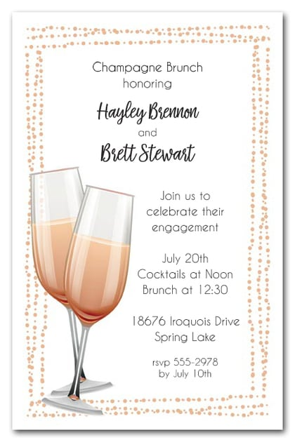 lunch party invitations