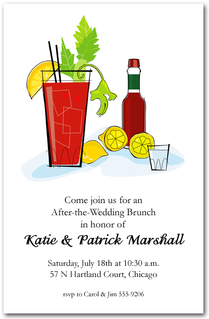 brunch party invitations
