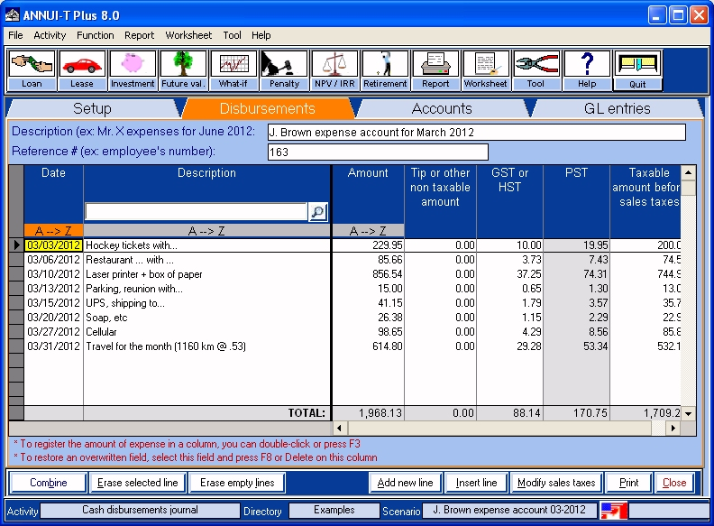 Utilimax Inc/ ANNUI-T software
