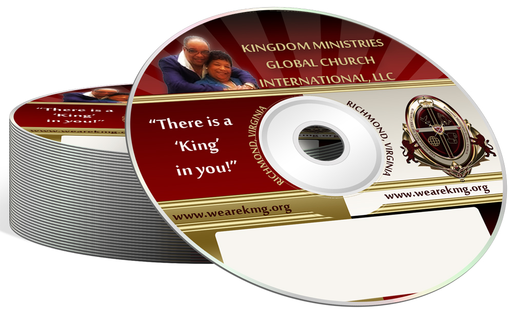 CD/ DVD Cases and Labels Anointed Fire™