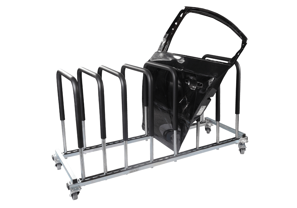 These Storage Racks Are Highly Effective For Car Body Shops
