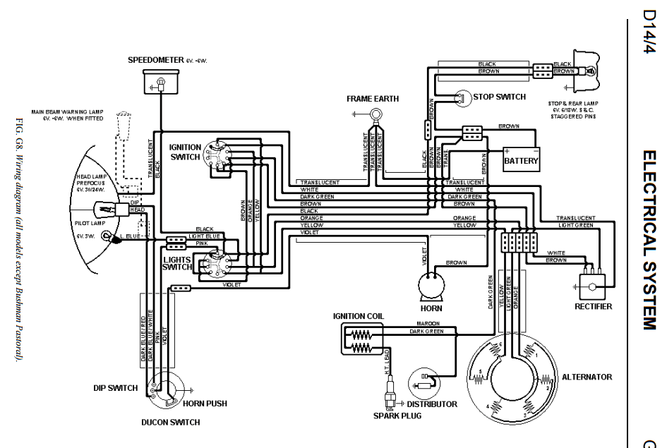 wiring diagram to switch