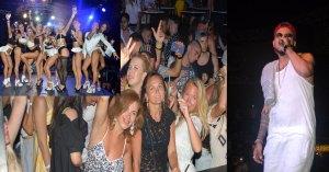 Kazak şarkıcı Natan, Club Aura'da  konser verdi