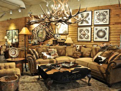 Shop Rustic \ Western Living Room Furniture - Anteks Home - western living room decor