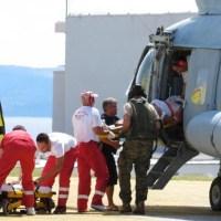 Zapalila se kuća, helikopterom spašavali trudnicu