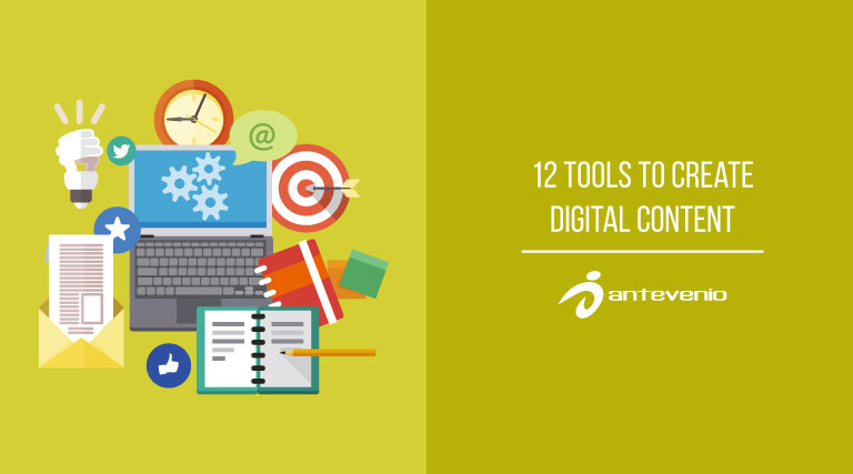 12 tools to create digital content