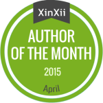 Xinxii Author of the Month, Anthony St. Clair