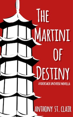 New cover for The Martini of Destiny
