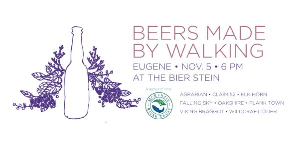 Beers Made by Walking - Eugene beers