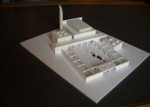 Η μακέτα για το τζαμί στο Βοτανικό