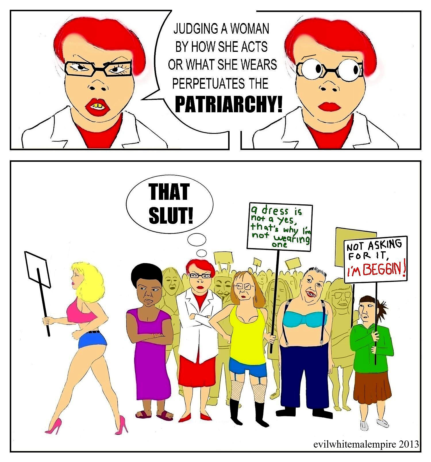 fallacies of anti porn feminist argument A feminist defense of pornography what are the substantive questions raised by each feminist perspective anti -porn such arguments are not pro -pornography.
