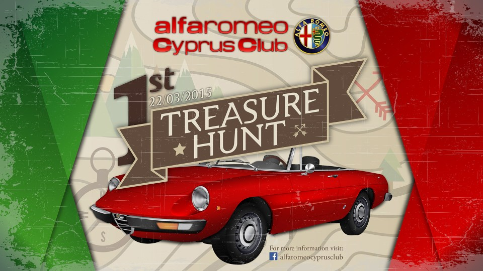 ALFA Romeo Cyprus Club 1st Treasure Hunt 2015