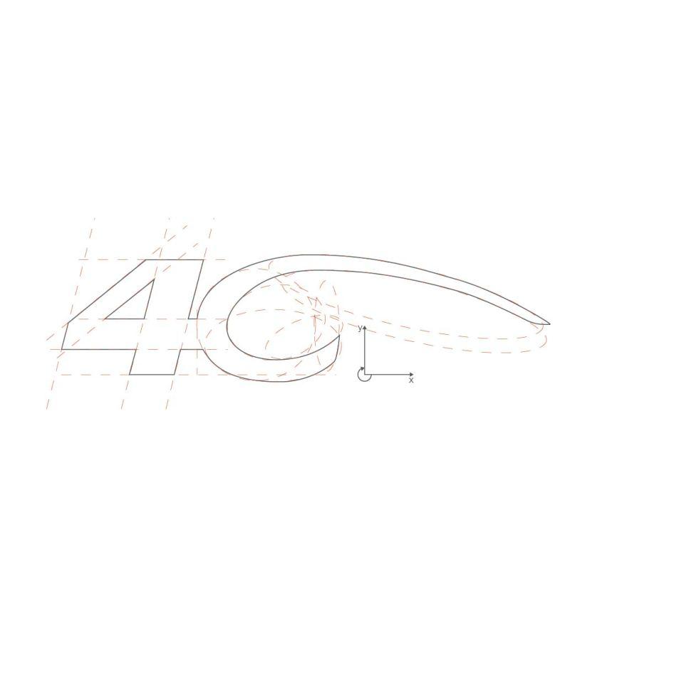 ALFA Romeo 4C Logo Elliptical System