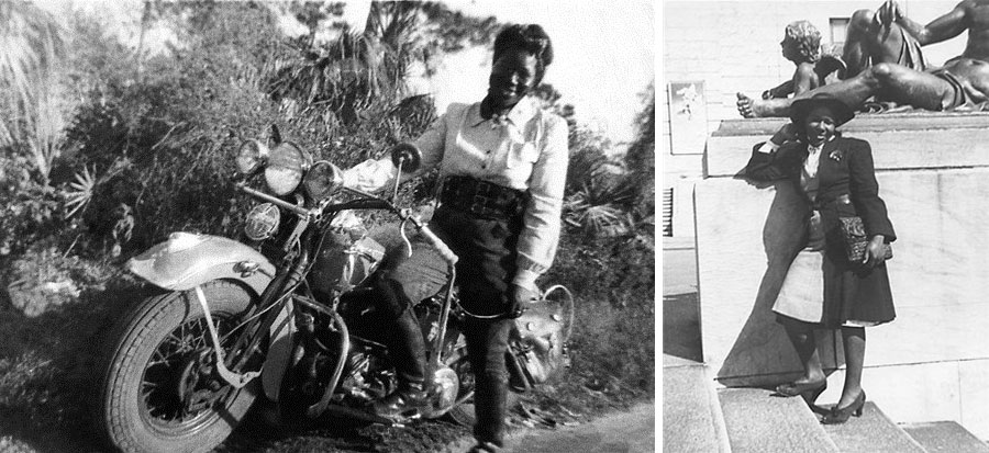 Bessie Springfield Women in Motorcycles
