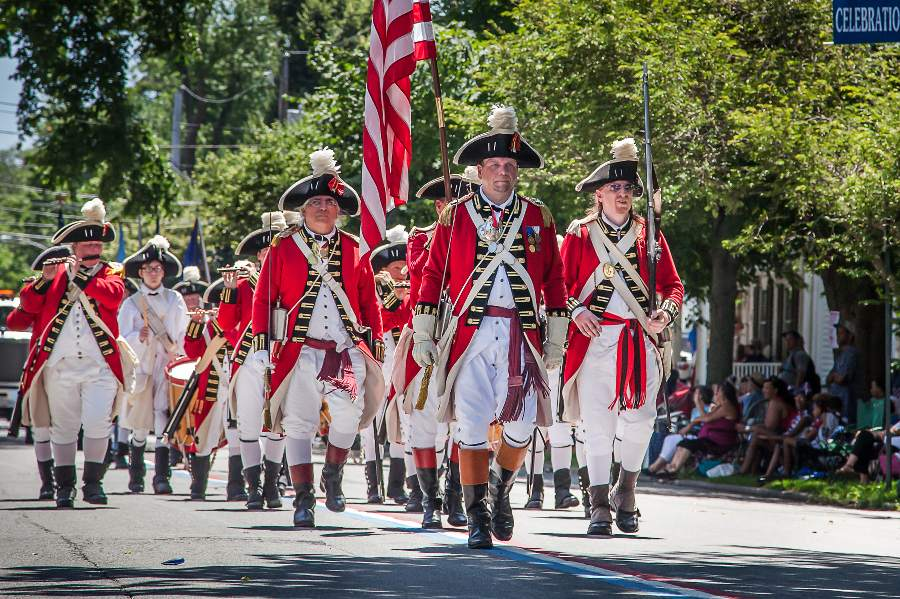 Bristol, rhode island, small town fourth of july two lanes blog