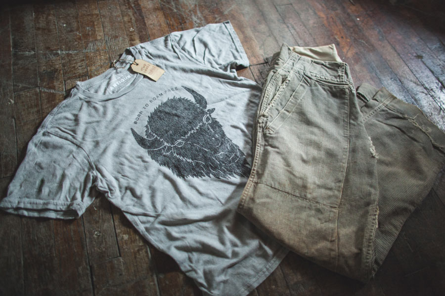 American made travel wear