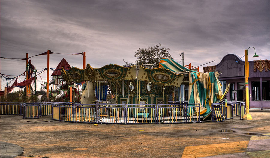 six flags jazz land abandoned