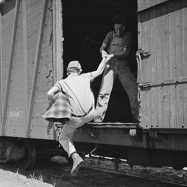 hobos on trains
