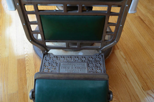 Theo A Kochs Co Barber Chair In Great Condition