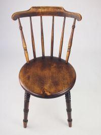 Harlequin Set 6 Antique Pine Kitchen Chairs - Six Ibex ...