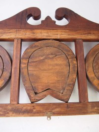 Antique Edwardian Hanging Hat & Coat Rack