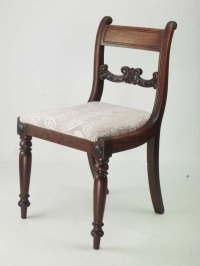 Pair of Antique Regency Mahogany Chairs