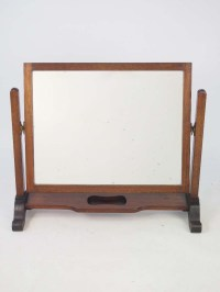 Vintage Mahogany Dressing Table Mirror