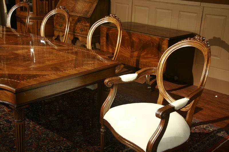 Louis Xvi Dining Table And Chairs Dining Room Ideas