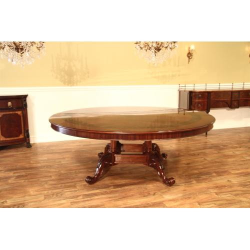 Medium Crop Of Large Round Dining Table