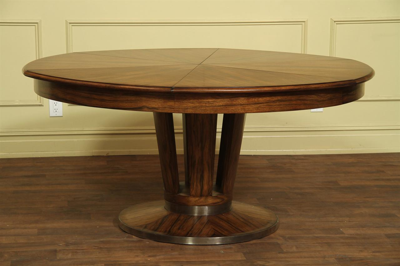 Contemporary Jupe Table Large Modern Round Dining Table