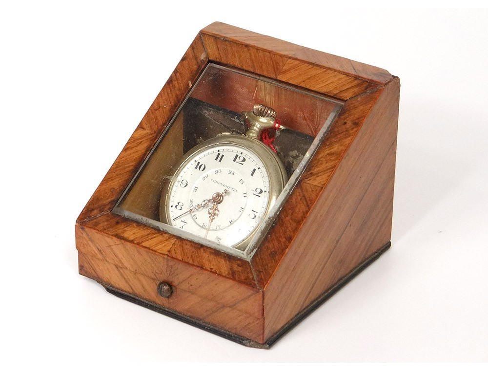 Wooden Pocket Watch Stand Image Of Blouse And Pocket