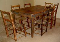 PRIMITIVE KITCHEN SET ( Canadian pine wood furniture) For ...