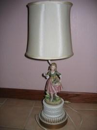 Vintage Victorian Lady Porcelain Figurine Entry / Table ...