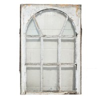 Remarkable Salvaged Antique Windows with Arched Design ...