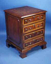 English Mahogany File Cabinet For Sale | Antiques.com ...