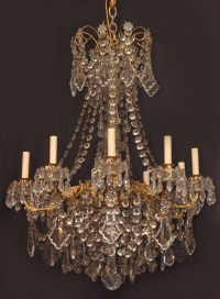 Crystal Chandeliers CHC7 For Sale | Antiques.com | Classifieds