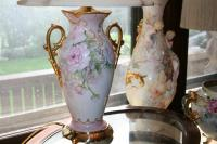 Limoges Gifts-13 Hand Painted Limoges Lamp For Sale ...