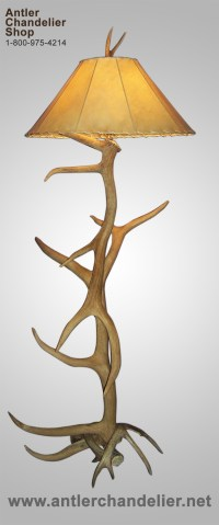 Real & Reproduction Antler Floor Lamps | Antler Chandelier